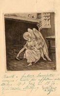 [DC7658] CPA - ANGELO - Viaggiata 1904 - Old Postcard - Cristianesimo