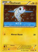 Carte Pokemon 31/101 Anchwatt 30pv 2013 - Pokemon
