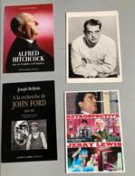 3 Cartes Posales : Rétrospective Jerry Lewis - Hitchcock De McGilligan - John Ford De McBride) - Non Classés