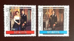 St Kitts 1986 Royal Wedding MNH - St.Kitts And Nevis ( 1983-...)