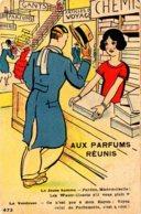[DC7681] CPA - AUX PARFUMS REUNIS - INCONTRO DI FRAGRANZE - Non Viaggiata - Old Postcard - Humor