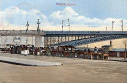 [DC7693] CPA - PONTE - SZEGED HALPIACZ - Non Viaggiata - Old Postcard - Ungheria