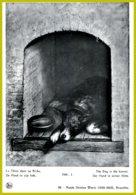 CP Nels 96-Musée  Antoine J. Wiertz Bruxelles : Le Chien Dans Sa Niche - The Dog In The Kennel - Illustrateurs & Photographes