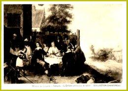 CP Collection Chantereau-Musée  Du Louvre : Teniers-L'Enfant Prodigue à Table - Pittura & Quadri