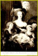 CP Verso Pub Médicale Horsine -50 LL  Musée De Versailles : Mme Vigée-Lebrun-La Reine Marie-Antoinette Et Ses Enfants - Pittura & Quadri