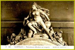 CP 1 LL.-Musée De Valenciennes- Carpeaux-Valenciennes Défendant Ses Remparts - Sculture