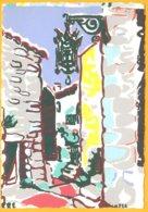 CP édition :C.R. Paris-EZE: Aquarelle De Richter - Pittura & Quadri