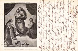 18263  Genäide- Galerie  RAFFAEL  La Madonna Di San Sisto - Pittura & Quadri