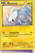 Carte Pokemon 62/160 Anchwatt 40pv 2015 - Pokemon