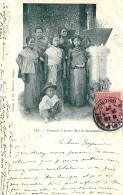 LAOS FEMMES ET JEUNES FILLES DE SAVANNAKHET  1907 - Laos