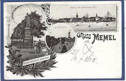 CPA Lituanie Lithuanie Lituania Circulé En 1898 Précurseur  Pologne Polen Voir Scan Du Dos Memel - Lithuania