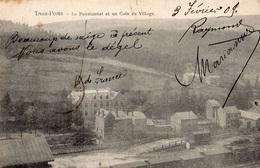 TROIS-PONTS LE PENSIONNAT ET UN COIN DU VILLAGE - Trois-Ponts