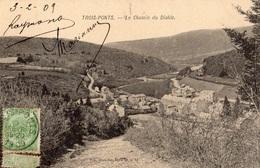 TROIS-PONTS LE CHEMIN DU DIABLE (CARTE PRECURSEUR ) - Trois-Ponts