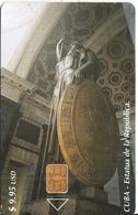 CUBA - Estatua De La Republica, Tirage 30000, 01/03, Used - Cuba