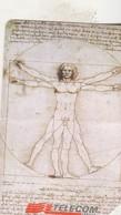 VINCI  L Homme De Vitruve    2001 - Italy