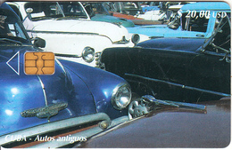 CUBA - Car, Autos Antiguos, Tirage 30000, 01/03, Used - Cuba