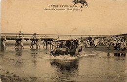 Le Maroc Pittoresque. Automobile Traversant L'oued Neffifick. - Marruecos