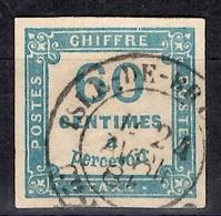 France Timbre Taxe YT N° 9 Oblitéré. Signé Brun. Premier Choix. A Saisir! - Postage Due