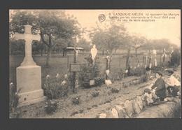 Labouxhe-Melen - Ici Reposent Les Martyrs Fusillés Par Les Allemands Le 6 Août 1914... - Animée - Enfants - Soumagne