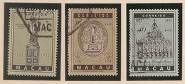 Macau Portugal China Chine 1952 - Centenário Morte S Francisco Xavier - Anniversary Death Of St. Francisco Xavier - Used - Macao