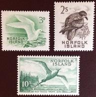 Norfolk Island 1960-62 Birds From Set MNH 10s MLH - Oiseaux