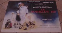 AFFICHE CINEMA ORIGINALE FILM LE MATELOT 512 SANDA PENOT CREMER René ALLIO BERNHARDT 1984 - Posters
