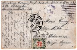 Postkarte Wien 1918 Österreich Autriche Menage Verteilung WW1 Hungary Ungarn - Brieven En Documenten