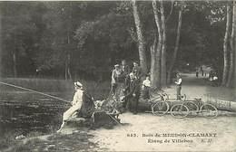 - Dpts Div.- Ref-AD940- Hauts De Seine - Bois De Meudon Clamart - Etang De Villebon - Pecheurs A La Ligne - Peche - - Clamart