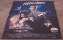 AFFICHE CINEMA ORIGINALE FILM Les Aventures De ROCKETEER JOHNSTON CAMPBELL Timothy DALTON 1991 COMICS - Posters