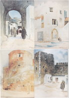 Gf. Castelos Portugueses En MARROCOS. 4 Cartes. 7, 8, 9 Et 11 - Unclassified