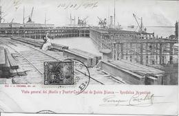 ARGENTINE-Vista General Del Muelle Y Puerto Comercial De Bahia Blanca-MO - Argentina