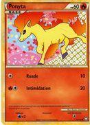 Carte Pokemon 72/102 Ponyta 60pv 2011 - Pokemon