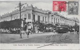 ARGENTINE-Buenos Aires Calle Santa Fé Y Centro America-MO - Argentina