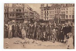 22.-LIEGE. -   Place Saint-Lambert- Les Pigeons - Liege