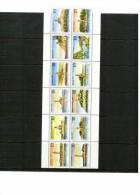 Jugoslawien / Yugoslavia / Yougoslavie 1991 Michel  2490-2501 Leuchttuerme / Lighthouses Postfrisch / Unmounted Mint - Leuchttürme