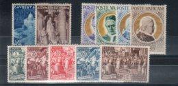 Vaticano 1951 -Annata Completa  - **MNH /VF - Vaticano