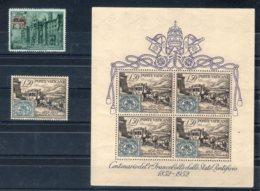 Vaticano 1952 -Annata Completa +BF - **MNH /VF - Vaticano