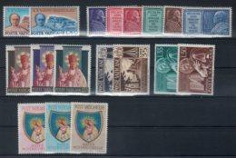 Vaticano 1954 -Annate Complete  - **MNH /VF - Vaticano