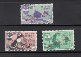 Jethou (Guernsey) Europa 1961 Fine Used Set 3 - Guernsey