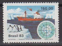 Brazil 1983 Antarctic Expedition 1v ** Mnh (40976F) - Brazilië