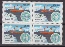 Brazil 1983 Antarctic Expedition 1v Bl Of 4 ** Mnh (40976G) - Brazilië