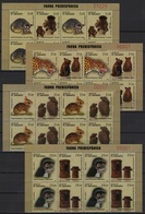 Salvador (2013)  Yv. 1838/45 - B4   /   Heritage - Archeology - Fauna - Jaguar - Rabbit - Monkey - Mouse - Katzen - Archeologie