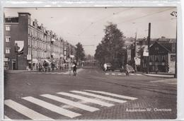 Amsterdam W. Overtoom Verkeersagent Stopbord Fietsers Levendig   1791 - Amsterdam