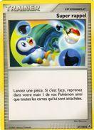 Carte Pokemon 87/100 Super Rappel 2008 - Pokemon