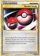 Carte Pokemon 72/95 Double Boule 2010 - Pokemon