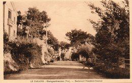 Carqueiranne - Le Paradis - Boulevard Président Doumer - Carqueiranne
