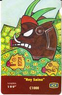 COSTA RICA - Rey Saino/Francisco Munguia, ICE Prepaid Card C1000, 05/08, Used - Costa Rica