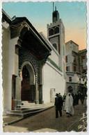 TANGER   LA  GRANDE  MOSQUEE  DU  PETIT-SOCCO    2 SCAN      (VIAGGIATA) - Tanger
