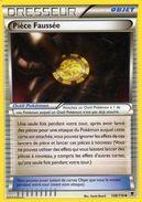 Carte Pokemon 108/119 Piece Faussée 2014 - Pokemon