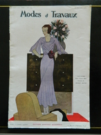 "Modes Et Travaux N° 306 - Edit. EDOUARD BOUCHERIT - "" Jacynthe "" Robe D'après Midi - MAGGY ROUFF - Sept. 1932 - WECLA - Fashion"